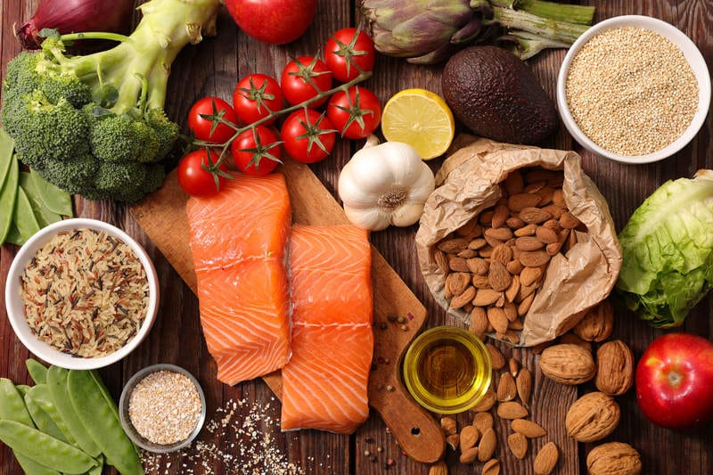sveikos dietos širdies sveikatai)