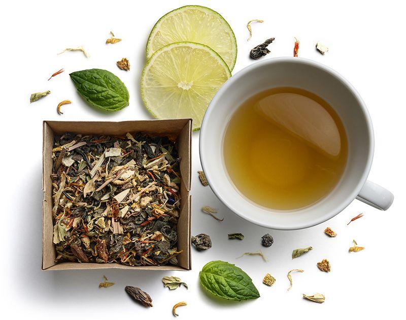 zalioji arbata sveiki produktai